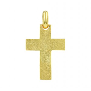 Men's cross  Aneli  collection K14 005126 Yellow gold