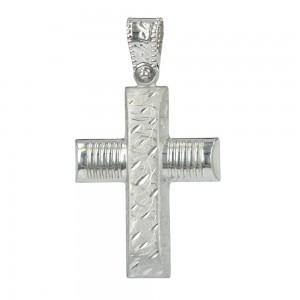 Men's cross Aneli collection K14 006965 White gold