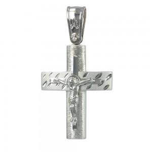 Men's cross Aneli collection K14 006968 White gold