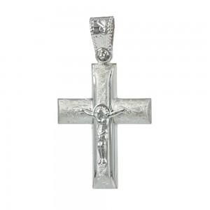 Men's cross Aneli collection K14 006969 White gold