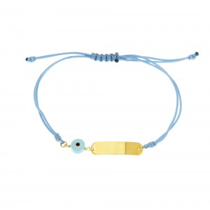 Bracelet for baby boy Yellow gold K14 Code 005369