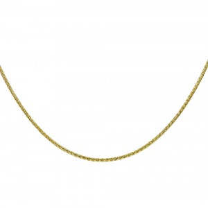 Chain  K14 solid Yellow gold ALK001