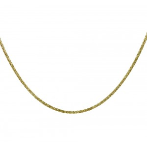 Chain  K14 solid Yellow gold ALK002