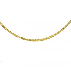 Chain  K14 solid Yellow gold ALK004