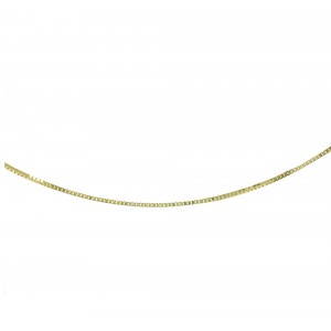 Chain  K14 solid Yellow gold ALK005