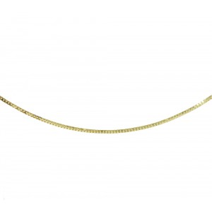 Chain  K14 solid Yellow gold ALK006