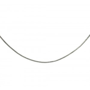 Chain  K14 solid White gold  ALL0010