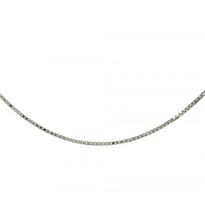 Chain  K14 solid White gold  ALL0011