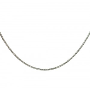 Chain  K14 solid White gold  ALL002