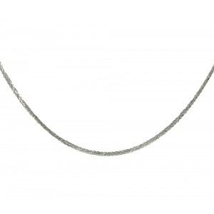 Chain  K14 solid White gold  ALL003