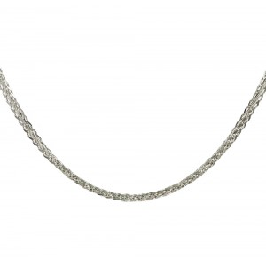 Chain  K14 solid White gold  ALL004