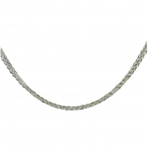 Chain  K14 solid White gold  ALL005