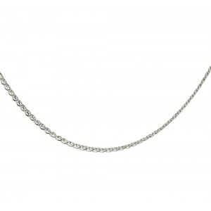 Chain  K14 solid White gold  ALL006