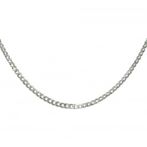 Chain  K14 solid White gold  ALL008