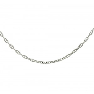 Chain  K14 solid White gold  ALL009