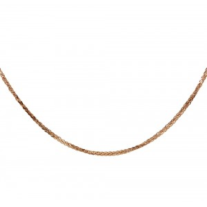 Chain  K14 solid Pink gold  ALR001