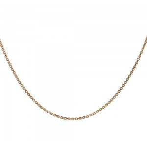 Chain  K14 solid Pink gold  ALR003