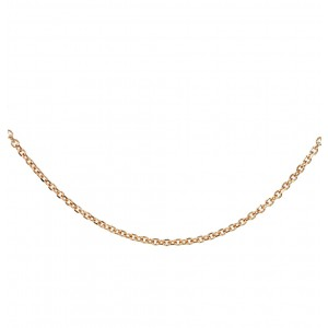 Chain  K14 solid Pink gold  ALR004