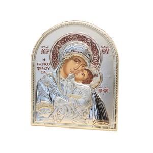 Silver religious picture 006190 Slevori
