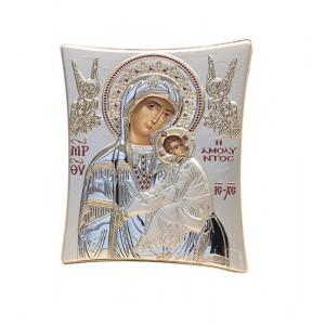 Silver religious picture 006192 Slevori